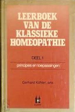Leerboek van de klassieke homeopathie / G. Kohler