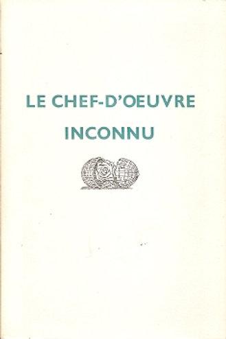 Le chef-d'oeuvre inconnu. / Honore De Balzac