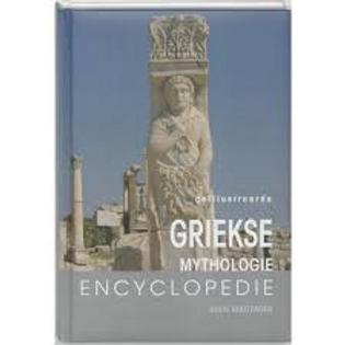 Geillustreerde Griekse mythologie encyclopedie. / G. Houtzager.