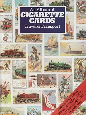 An album of cigarette cards / Travel & transport