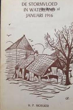 De stormvloed in Waterland. Januari 1916. / H. P. Moelker