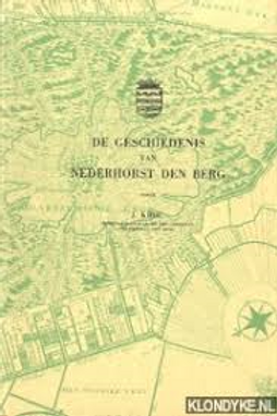 De geschiedenis van Nederhorst den Berg / J. Krol