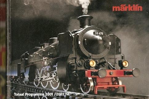 Märklin Catalogus 2001/2002