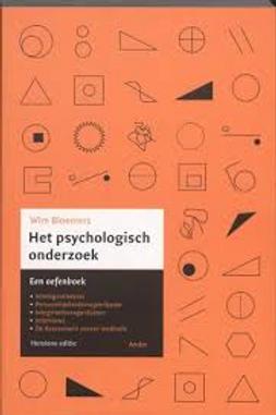 Het psychologisch onderzoek. / W. Bloemers.