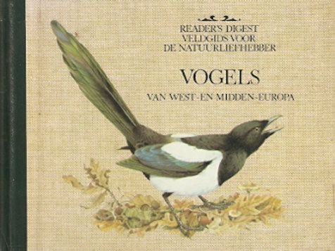 Vogels van West- en midden Europa