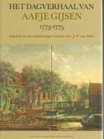 Dagverhaal van Aafje Gysen / J.W. van Sante