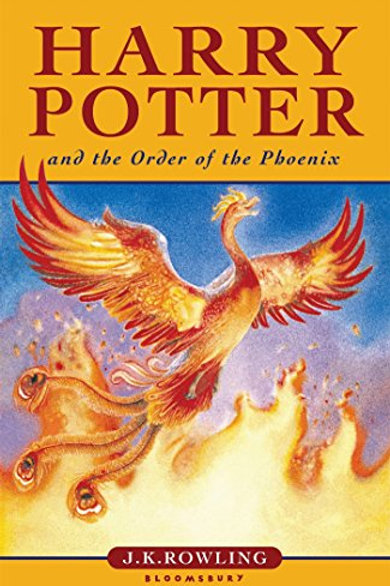 Harry Potter the order of the Phoenix / J. K. Rowling