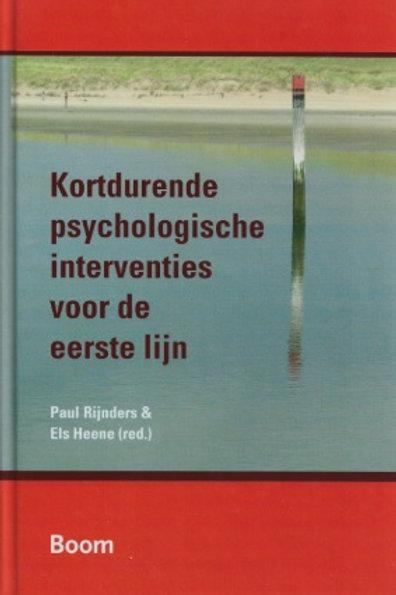 Kortdurende psychologische interventies voor de eerste lijn / P. Rijnders o.a.