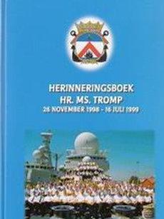 Herinneringsboek HR. MS. Tromp 1998-1999.