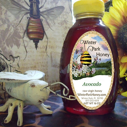 Avocado Raw Honey 16oz