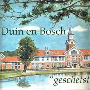 Duin en Bosch geschetst