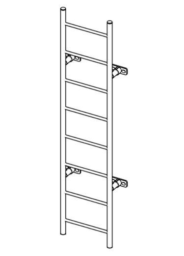 8 Foot Ladder Section