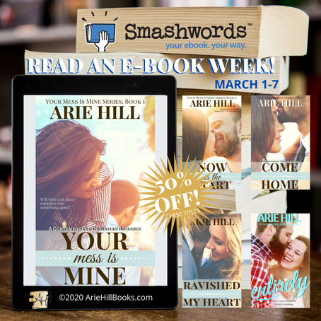 READ AN E-BOOK WEEK AT SMASHWORDS!