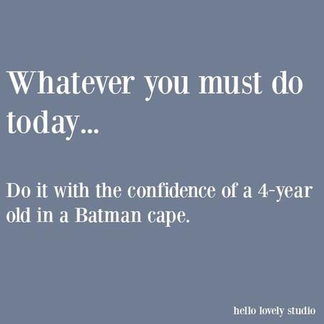 My Confidence Level