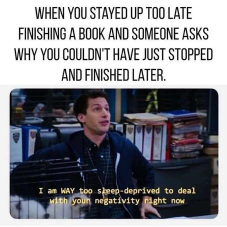 But I Did Finish It