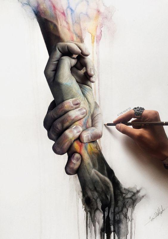 drawing by Toni Mahfud