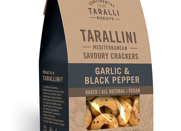 TARALLINI - Garlic & Black Pepper (125gr)
