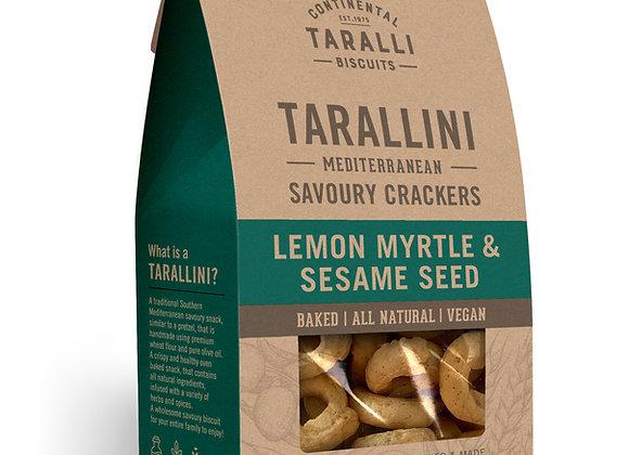 TARALLINI - Lemon Myrtle & Sesame Seeds (125g)