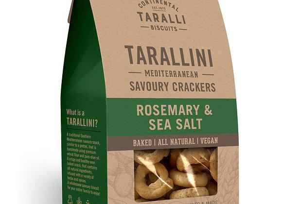 TARALLINI - Rosemary & Sea Salt (125gr)