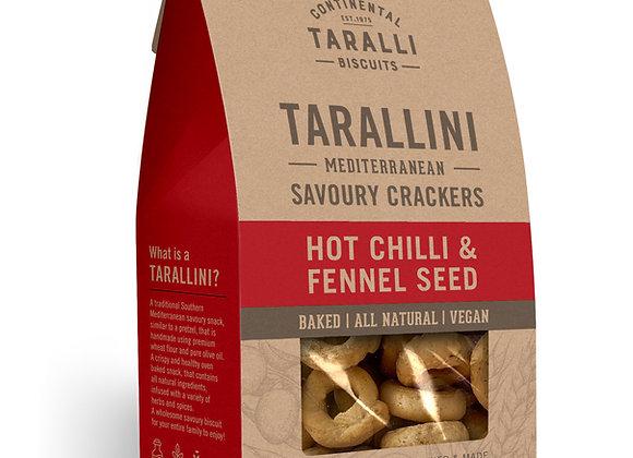 TARALLINI - Hot Chilli & Fennel (125gr)