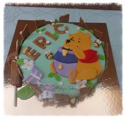 Tarta Winnie de Pooh