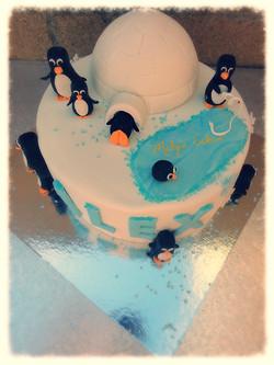 Tarta Pingüinos
