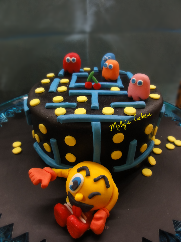 Tarta Pac-Man