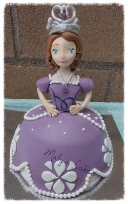 Tarta Princesa Sofía