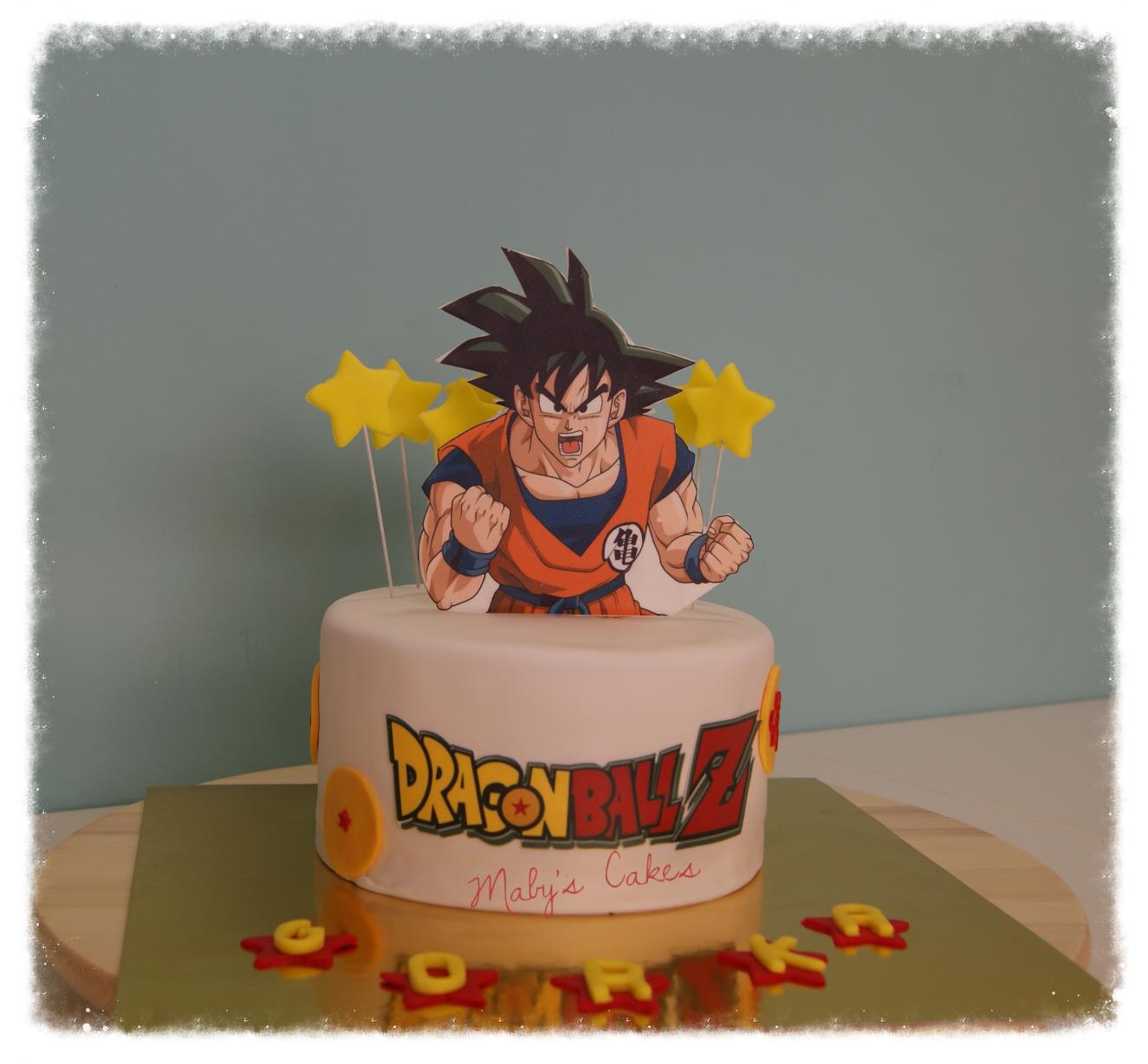 Tarta Son Goku