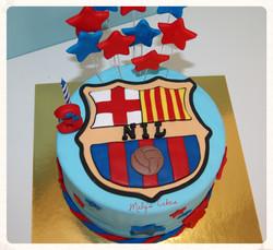 Tarta_escudo_Barça__Pastel_fondant_personalizado_Mabys_Cakes_www.mabyscakes.com_Sabadell_Terrassa_Cu
