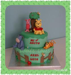 Tarta Winnie y sus amigos