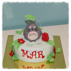 Tarta Totoro       Tarta Sabadell Terrassa fondant tarta personalizada
