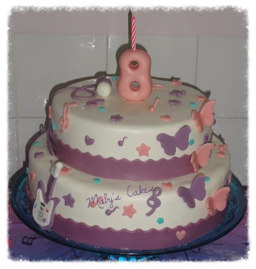 Tarta Violetta