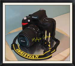Pastel camara Nikkon fotos   pastis fondant tarta pastel  sabadell terrassa rubi sant quirze sant cu
