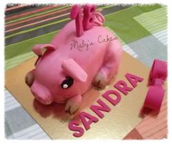 pasteles personalizados sabadell cerdo
