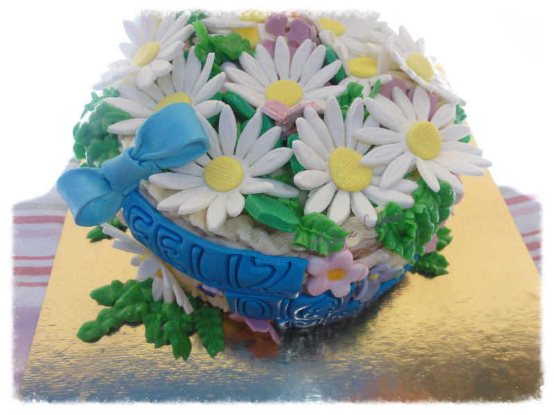 pasteles personalizados sabadell flores