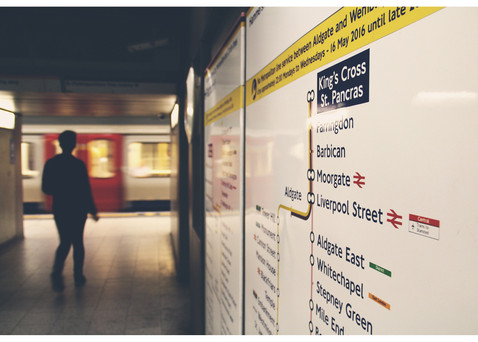 King's Cross Station by Agatha Vieira