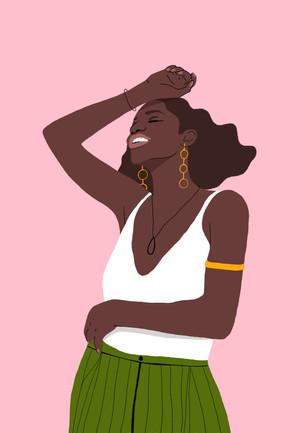 Digital Illustration by Agatha Vieira