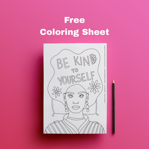Free Coloring Sheet by Agatha Vieira
