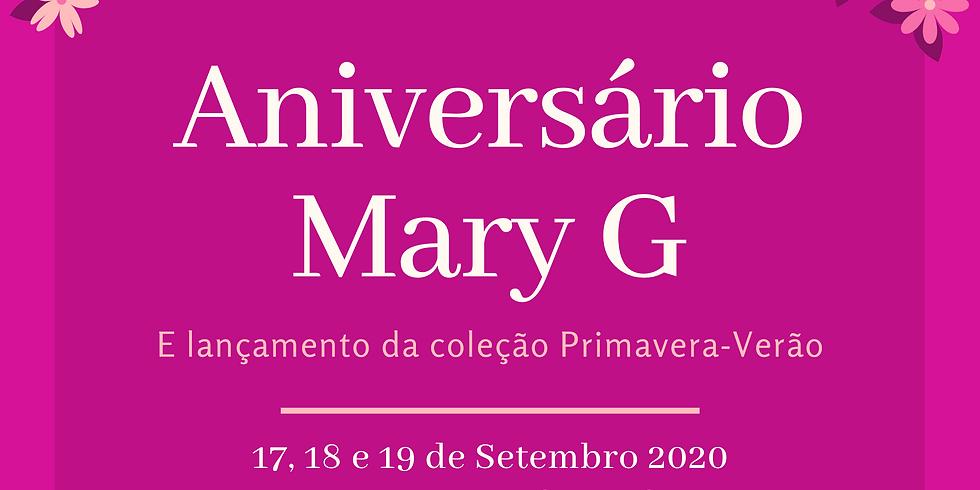 Aniversário Mary G