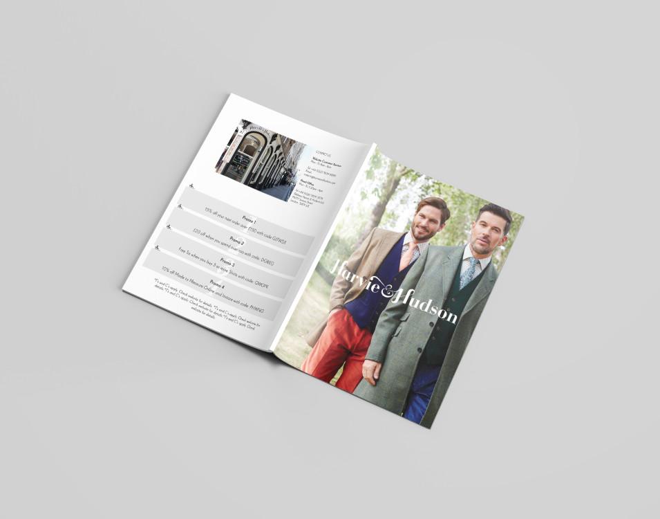 Harvie and Hudson's Lookbook