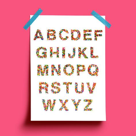 Candy Helvetica
