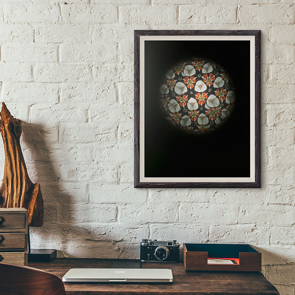 Kaleidoscope art by Agatha Vieira