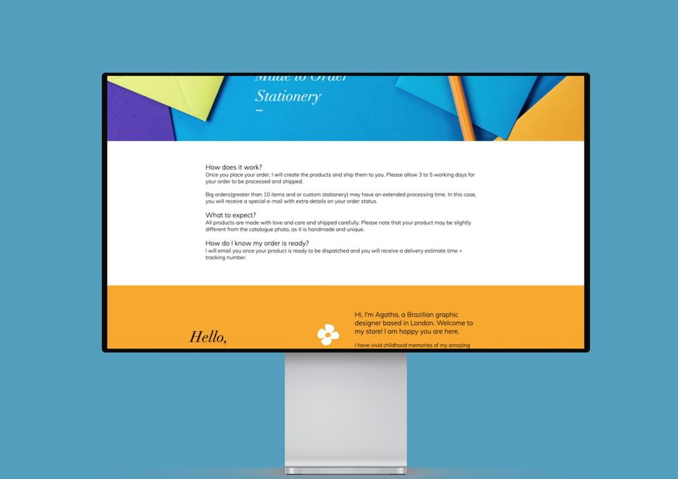 AV Designs website