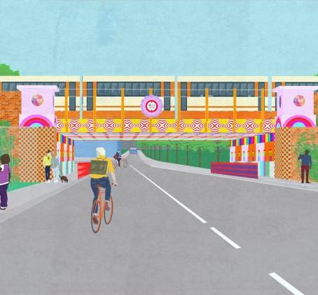 London bridge will be soon transformed by designer Yinka Ilori