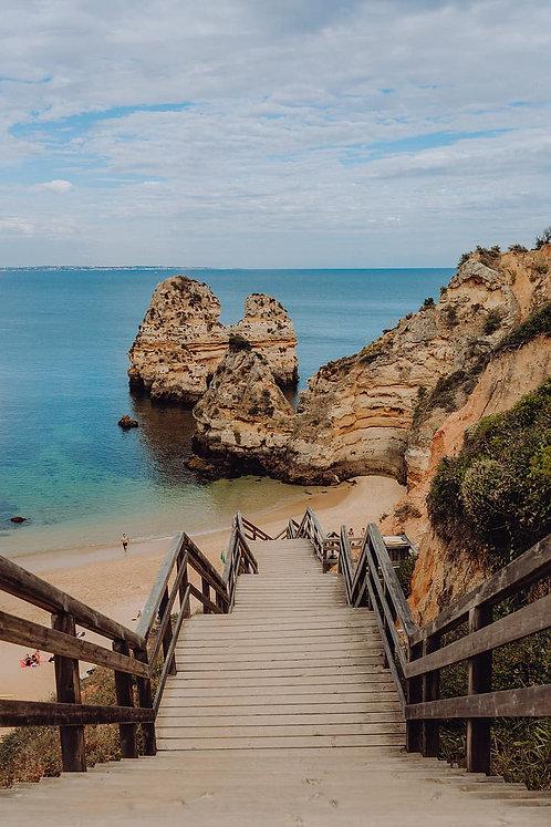 Algarve e seus tons de azul