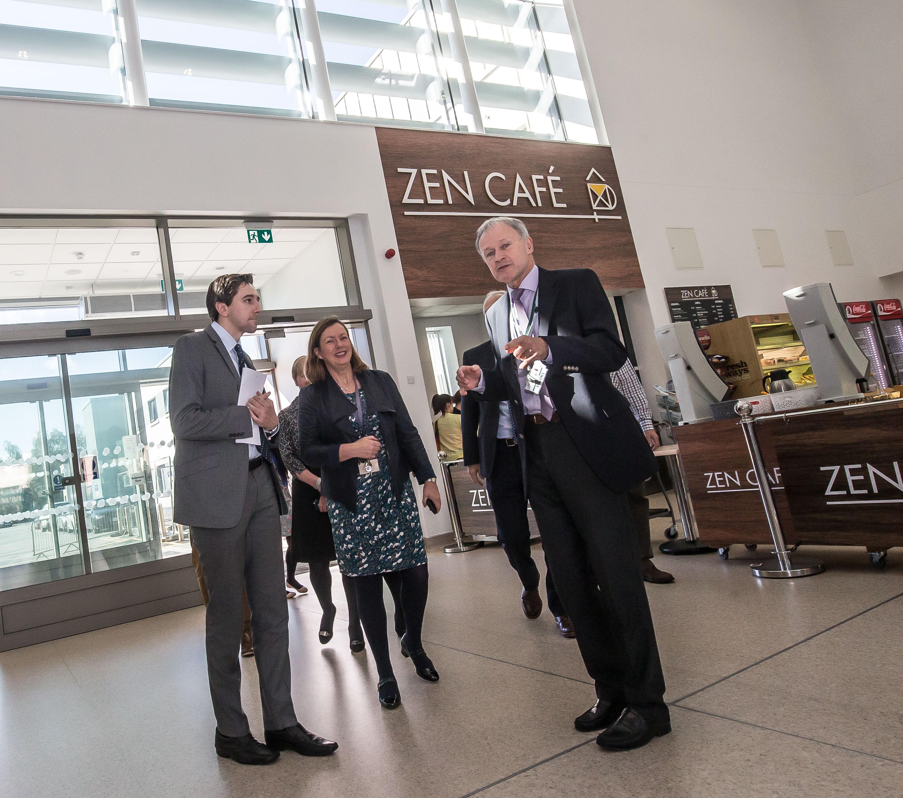 Minister for Health, Zen Café