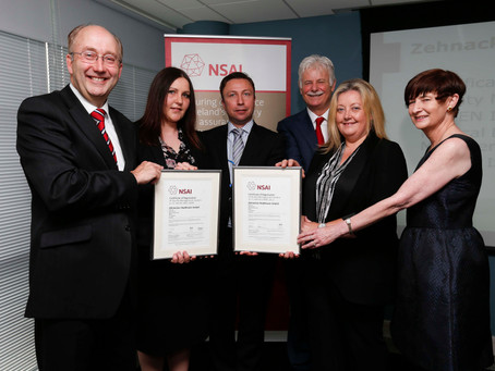 Zehnacker Healthcare Awarded ISO 9001 & 13485 accreditation