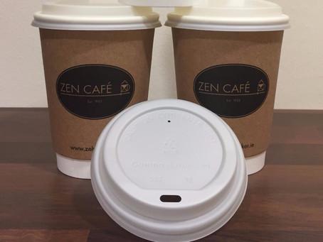 Zen Café Goes Compostable