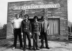 Barry Beckett, Roger Hawkins, David Hood and Jimmy Johnson. Destination Nightmare
